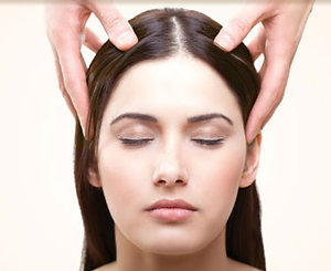 Indian Head Massage. Indian Head Massage